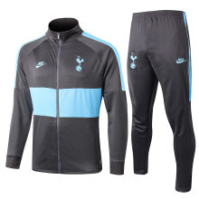 2019/20 Tottenham Gray Jacket Tracksuit Full Sets
