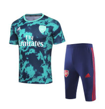 19/20  Arsenal Green With Capri Training Short Suit