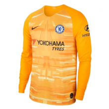 2019/20 Chelsea Yellow GK Long Sleeve Soccer Jersey