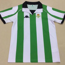1998 Real Betis Home Retro Soccer Jersey Shirt