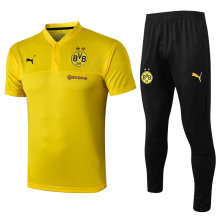 2019/20 Dortmund Yellow Polo Tracksuit
