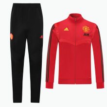 2019/20 Man Utd Red Jacket Tracksuit