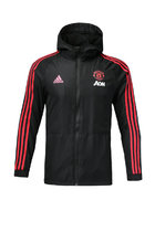18/19 Man Utd black windbreaker