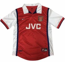 1998-1999 Arsenal Home Retro Soccer Jersey
