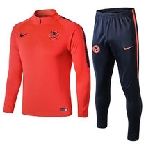 America OrangeTraining Tracksuit Full Sets 2019