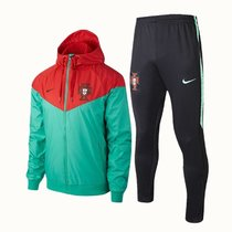 18/19 Portugal Green And Red Windbreaker