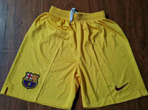 2019/20 BA Yellow Away Shorts Pants Soccer