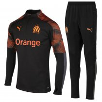 2019/20 Marseille Orange Half Pull Sweater Tracksuit