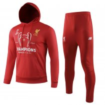 2019/20 Liverpool Red Hoodie Training Tracksuit Full Sets