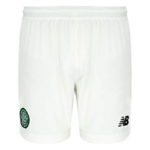 2019/20 Men's Celtic Home White Shorts
