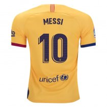 MESSI #10  BA  Away Fans Soccer Jersey 19/20