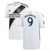 IBRAHIMOVIC #9 LA Galaxy Home White Fans Soccer Jersey 2019/20