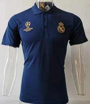 2019/20 RM UCL Royal Blue Polo Short Jersey