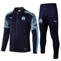 2019/20 Marseille Royal Blue Jacket Tracksuit