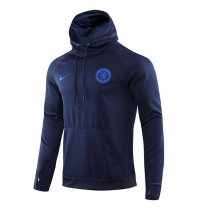 2019/20 Chelsea Royal Blue Hoodie Training Tracksuit
