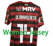 2019 Flamengo LIBERTADORES FINAL Home Women Jersey(名字在号码上面 )