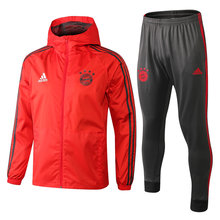 18/19 Bayern Munich Red Windbreaker Full Sets