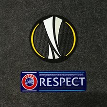 2018-2019 UEFA Europa League Patch with Respect Patch