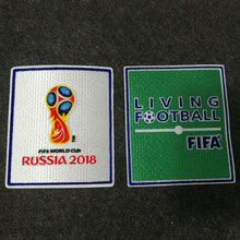 2018 Fifa World Cup Russia Soccer Patch