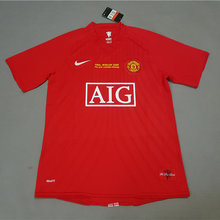07-08 Man Utd home Red Retro soccer jersey