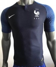 2 Star Champion Player Version France Home Soccer Jersey 2018