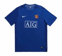 2008 Man Utd Away Retro Soccer Jersey
