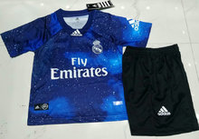 2019 RM Blue EA Edition Kids Soccer Kits