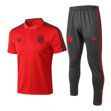 2019/20 Bayern Munich Red Polo Tracksuit