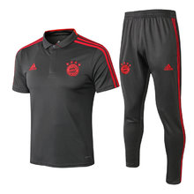 2019/20 Bayern Munich Grey Polo Tracksuit