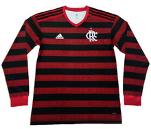 2019/20 Flamengo Home Long Sleeve Soccer Jersey