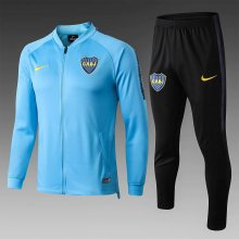 Boca Sky Blue Jacket Tracksuit Full Sets 2019