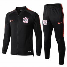 Corinthians Black Jacket Tracksuit Full Sets 2019