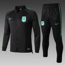 2019 Atletico Nacional Black Jacket Suit Full Sets