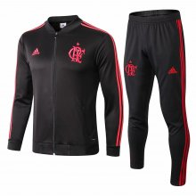 2019 Flamengo Black Jacket Tracksuit Full Sets