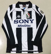 1997-1998 Juventus Home Retro Long Sleeve Soccer Jersey