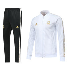 2019 Real Madrid White Jacket Tracksuit