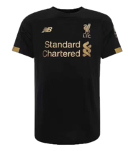 2019/20 Liverpool Black 1:1 Quality GK Soccer Jersey