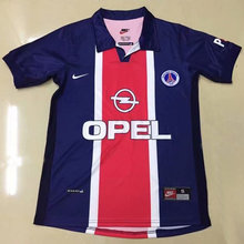 1998/1999 PSG Paris Home Retro Soccer Jersey