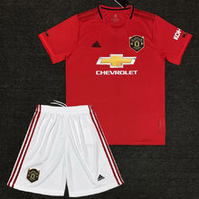2019/20 Man Utd Home Red Kids Soccer Jersey