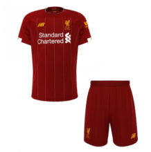2019/20  Liverpool Home Red Kids Doccer Jersey