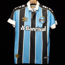 2019/20 Gremio Home 1:1 Quality Fans Soccer Jersey (ALL Sponsors)