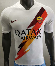 2019/20 Roma Away White Player Version Soccer Jersey