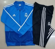 2019/20 Real Madrid Blue Jacket Tracksuit