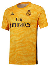 2019/20 RM Yellow Goalkeeper Soccer Jersey