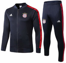 2019/20 Bayern Munich Black Jacket Tracksuit