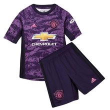 2019/20 Man Utd Purple Kids Soccer Jersey