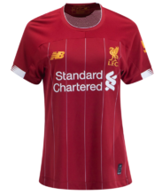 2019/20 Liverpool Home Red Women Soccer Jersey