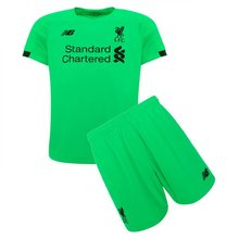 2019/20 Liverpool Green Goalkeeper kids Soccer Jersey