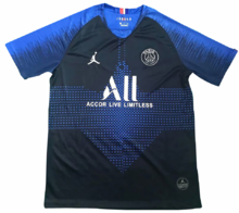 2019/20 PSG Paris Jordan  Blue Training Short Jersey