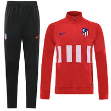 2019/20 Atletico Madrid Red Half Pull Sweater Tracksuit